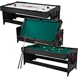 : Fat Cat Original 2-in-1, 7-Foot Pockey Game Table (Air Hockey and Billiards)
