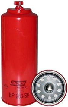 Baldwin Filters BF1283-SP Heavy Duty Fuel Filter 11-5//16 x 4-9//32 x 11-5//16In