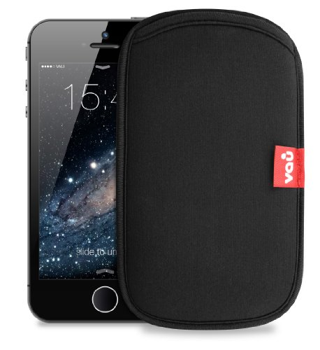 vau LifeGuard - Neopren-Tasche, Handytasche für Apple iPhone 5 / 5S & iPhone SE