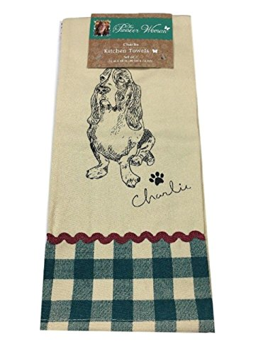 The Pioneer Woman Charlie Kitchen Towel Set 2 Piece by The Pioneer Woman