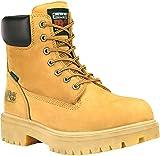 Timberland PRO Men's Direct Attach Six-Inch Soft-Toe Boot, Wheat Nubuck,14 W
