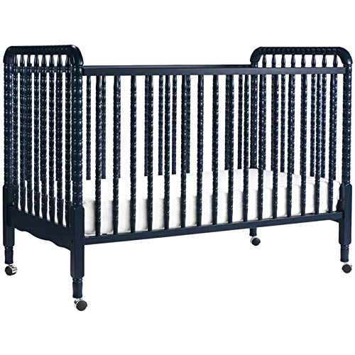 Davinci Jenny Lind 3-in-1 Convertible Crib, Navy