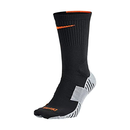 Nike Crew Socks Matchfit Football Calcetines, Unisex, Anthracite/Grey, Extra-Large