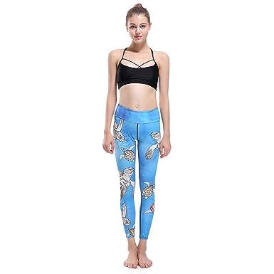 Saoye Fashion Pantalones De Yoga Impresos En 3D Pantalones De Ropa ...