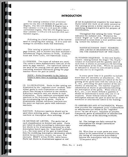 Machine Parts Catalog - 7