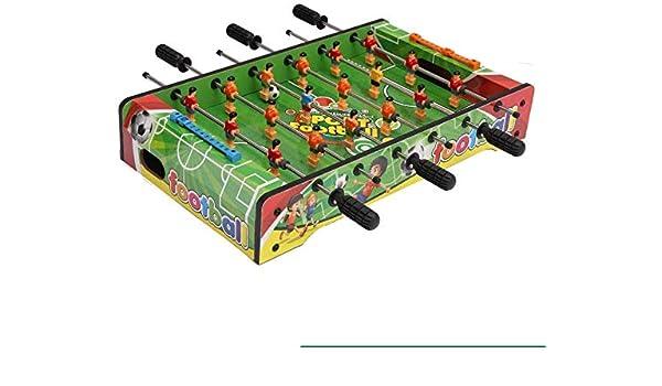 AK Futbolín de mesa de madera partido de fútbol, 61 X 31 X 20 cm ...