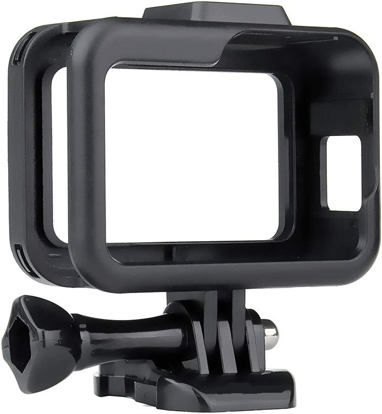 Julyimage 1pcs ABS Or Aluminum Alloy Protective Border Frame Housing Case Shell for GoPro Hero 8 Black Camera ABS