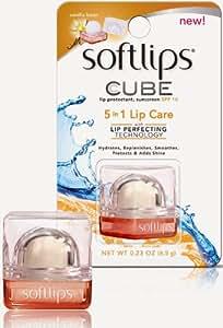 Softlips CUBE Vanilla Bean Lip Balm 0.23 OZ (6.5g)