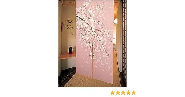 De estilo romántico con Cherry Blossom kousaido patines para patinaje de velocidad puerta de invierno cortina para puerta Decor: Amazon.es: Hogar