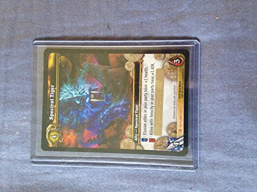 Spectral Tiger In Game Mount Unscratched Loot Card World of Warcraft Collecti…
