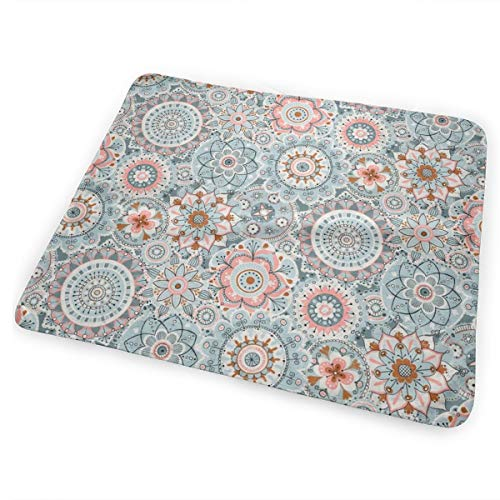 Boho Mandala - Small Scale_1562 Changing Pad Portable Biggest Changing Mat to Change Diaper (25.5