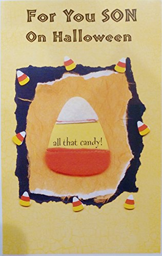 Hope Your Halloween is a Candy-licious Kind of Day - Happy Halloween Son Greeting Card