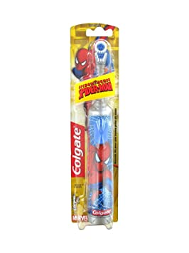Colgate cepillo de dientes a pilas Spider-Man: Amazon.es: Salud y cuidado personal