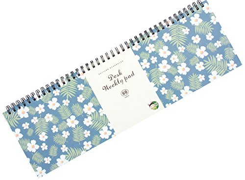 "Weekly Planners Pad - Weekly and Daily Planning Keyboard Paper Pad 13""x4"" by Hashi"