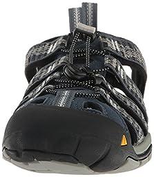 KEEN Men\'s Clearwater Cnx Hiking Boot, Midnight Navy/Vapor, 12 M US