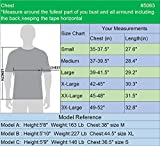 Neleus Men's 2 Pack Dry Fit Running Shirt Workout