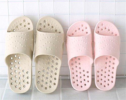 Tellw Bagno Per Casa Uomo Da Donna Estate Antiscivolo Pantofole Cachi Spesso Fondo Coperta qBwFEc
