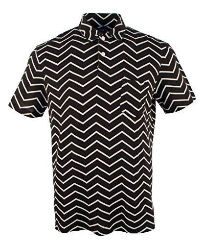 Polo Ralph Lauren Swordfish or Chevron Print Jersey Polo Shirt (XXLarge, ZigZag) -