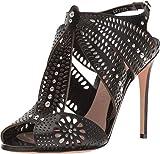 Alexander McQueen Sandal Pelle S.Cuoio Black/Black/Silver 39 (US Women's 9)