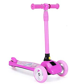 LJHBC Patinete Altura Ajustable Mini niños Patada Scooter ...