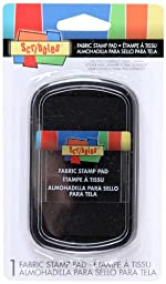 Scribbles Fabric Stamp Pads- Black