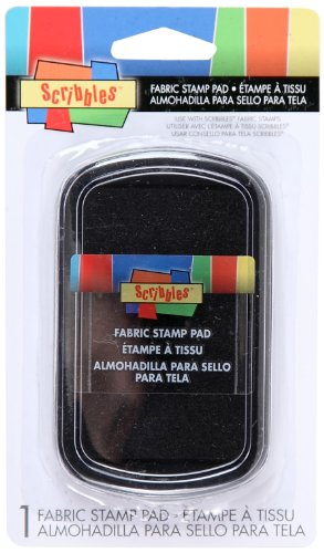 Scribbles Fabric Stamp Pads- (Fabric Stamp Pads)
