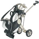 Golf Pens with Golf Bag Holder, 4-Piece Set