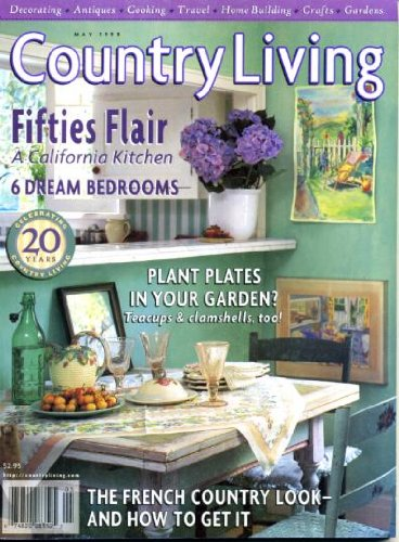 Marbles Marvelous (Country Living May 1998 Fifties Flair, A California Kitchen, 6 Dream Bedrooms, French Country Look - How to Get It, A Jewel on the Maine Coast, Gustav Stickley's Furniture Designs, Marvelous Marbles)