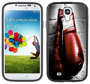 Boxing Gloves Handmade Samsung Galaxy S4 Black Bumper Hard Plastic Case