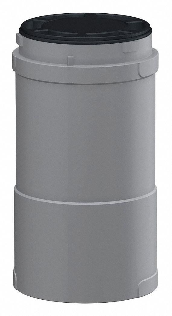 Body Extender,Silver,60mm D