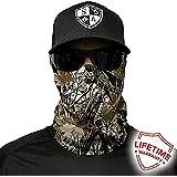 Salt Armour Face Mask Shield Protective Balaclava Alpha Defense (Snow Camo)