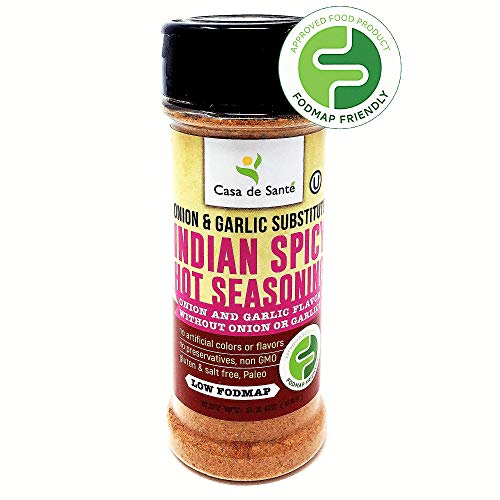 Low FODMAP Indian Spicy Hot Seasoning Rub, Paleo Seasoning Set, Healthy Spices for the Low FODMAP Diet, Popcorn Seasoning, Gluten-Free, Kosher, All Natural Flavors – Casa de Sante (94g) For Sale
