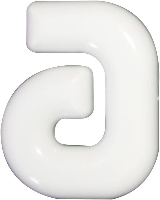 Hausnummern 8 Kunststoff wei/ß 160mm 1 St.