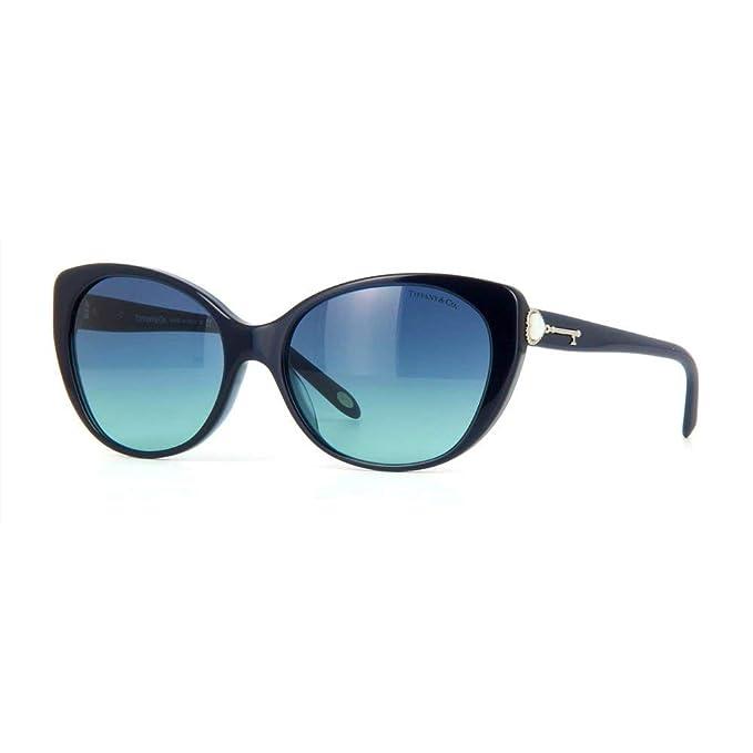 Tiffany & Co. TF4099H, Gafas de Sol para Mujer, Azul (Pearl ...