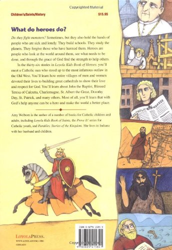 Loyola Kids Book of Heroes: Stories of Catholic Heroes and Saints throughout History