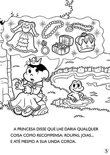 Turma Da Monica Classicos Ilustrados Para Colorir O Principe