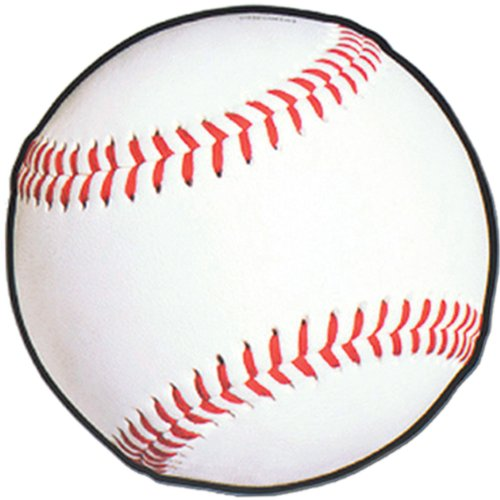 Baseball Cutout Party Accessory (1 count) (Baseball Cutout)