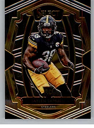 423b26bcf 2018 Select Football  200 Jaylen Samuels Pittsburgh Steelers Premier Level  RC Rookie Card Official NFL