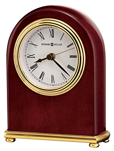 (Howard Miller 613-487 Rosewood Arch Table Clock)