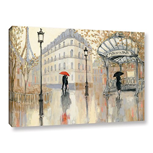 "Art Wall 2pur010a3248w Julia Purinton's To the Metro Gallery Wrapped Canvas Artwork, 32"" x 48"""