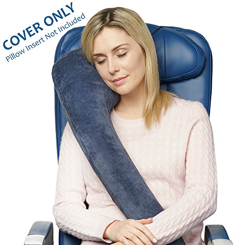 Travelrest COVER - Luxurious Plush Velour with Memory Foam Inserts (Cover Only) (Fits Blue, Red, Moss & Grey)