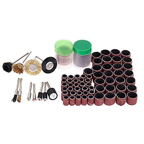 Lhoste 150pcs Rotary Tool Accessories Mini Drill Bit Set Fit Dremel Grinding Wheel Carving Polishing Drill Grinder Head Tool Sets