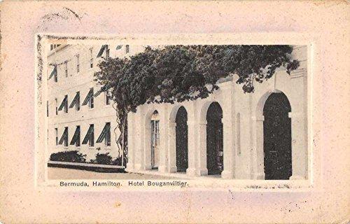 Hamilton Bermuda (Hamilton Bermuda Hotel Bouganviltier Exterior View Antique Postcard J72266)