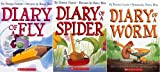 img - for Bug Diaries Set (3 Books) : Diary of a Worm / Diary of a Spider / Diary of a Fly (Diary of a Worm) book / textbook / text book
