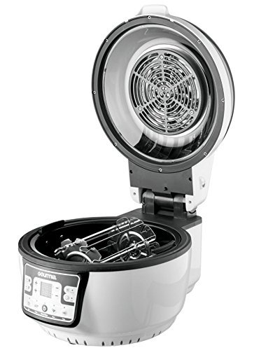 It uses radiant and convection cooking