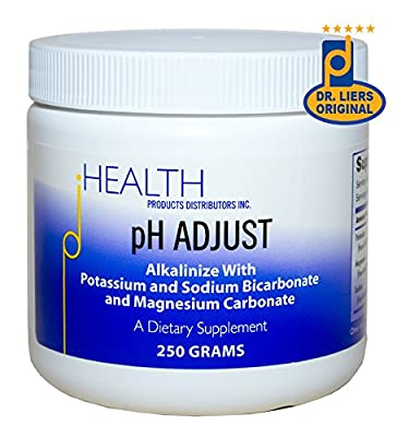 pH ADJUST – Alkalinizing Formula, 250 gm – Alkalinize with Potassium Bicarbonate, Magnesium Carbonate, Potassium Glycinate, and Sodium Bicarbonate