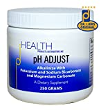 pH Adjust – Alkalinizing Formula, 250 gm – Alkalinize with Potassium Bicarbonate, Magnesium Carbonate, Potassium Glycinate, and Sodium Bicarbonate Review