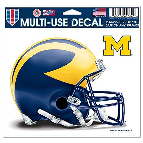 - NCAA University of Michigan 72413013 Multi-Use Colored Decal, 5