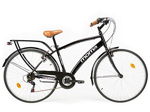 18 opinioni per Moma bikes, Bicicletta Passeggio Citybike SHIMANO. Alluminio, 18 velocità, ruota