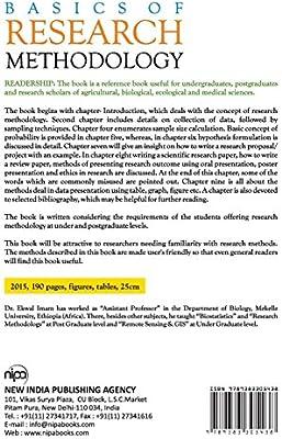 Basics of Research Methodology: Ekwal Imam: Amazon com: The
